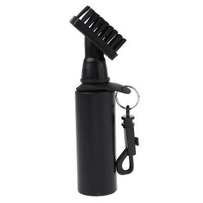 Golf Club Cleaning Brush Self-Contained Water Brush Club Cleaner with Clip