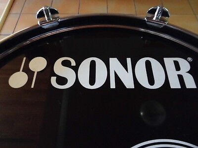 """SONOR  """"Force 2000""""  BassDrum  22"""" x 16""""  Made in Germany  VINTAGE"""