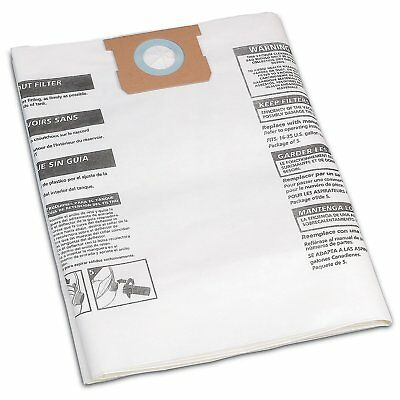 Shop-Vac 906-63-6 Disposable Collection Filter Bags for 16-22 Gallon Vacs