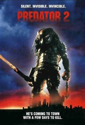 Predator 2 35mm Film Cell strip very Rare var_q