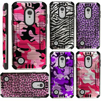 COMBAT DUAL HYBRID Case Cover for Cricket Wave FTU18A00 (2018
