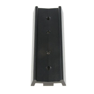 Metal Telescope Dovetail Mounting Plate for Equatorial Tripod 130mm Black