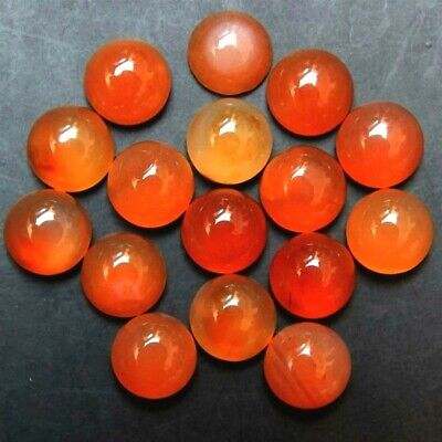 Wholesale Lot 4x4mm Round Cabochon Natural Carnelian Loose Calibrated Gemstone