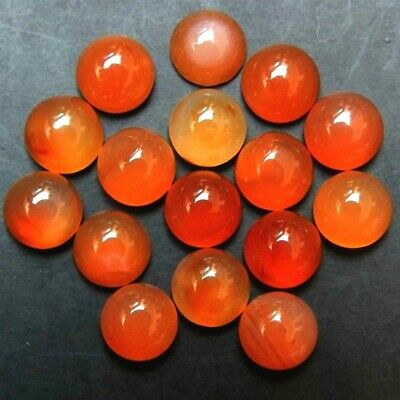 Wholesale Lot of 4mm Round Cabochon Natural Carnelian Loose Calibrated Gemstone