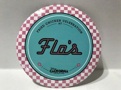 Disneyland California Adventure Flo's Fried Chicken Celebration Button Disney