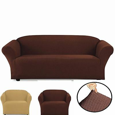 Stretch Couch Sofa OR Loveseat  Armchair Slip Cover New