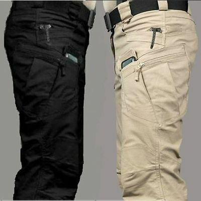 2018 New Mens Military Urban Tactical Combat Trousers Casual Cargo Pants Hiking