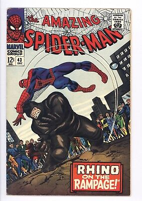 Amazing Spider-Man #43 Vol 1 Near Perfect High Grade 1st Full App of Mary Jane