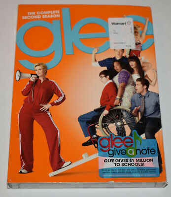 Glee: The Complete Second Season (DVD, 6-Disc Set)