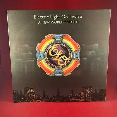 ELECTRIC LIGHT ORCHESTRA ELO A New World Record 1976  Vinyl LP EXCELLENT F