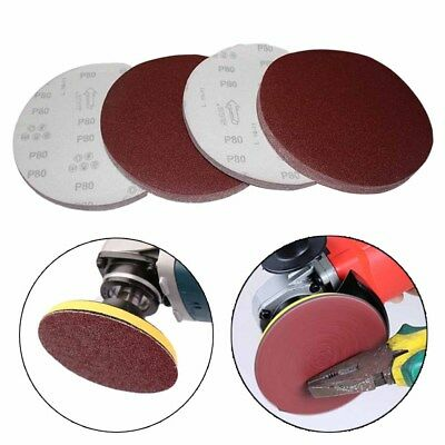 1/10Pcs 5inch(125mm) Sander Disc 60-320 Grit Sanding Pad Polishing Pad Sandpaper