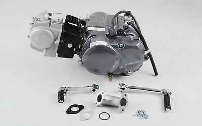 Lifan 125cc Motor Engine 1P54FMI Manuell 1-0-2-3-4 Cross Dirt Bike Pit Bike