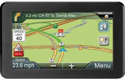 "Magellan RoadMate 9412T-LM 7"" Touch Screen GPS Navigation LIFETIME Map US/CAN/PR"