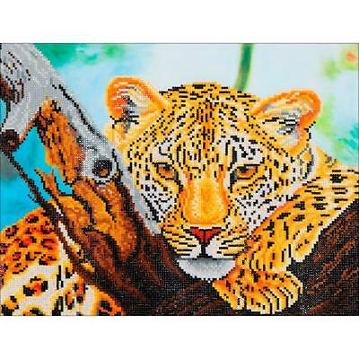 DIAMOND DOTZ Embroidery Facet Art 5D Painting Beads LEAPARD LOOK