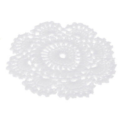 Cotton Hand Crochet Lace Doily Placemat coaster mug table place mug cup mats