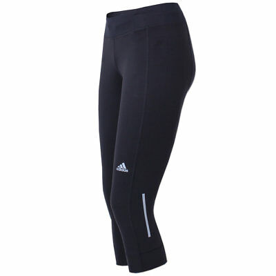 ADIDAS DAMEN 3/4 Tight ClimaLite Laufhose Running Hose ...