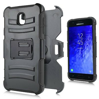 For Samsung Galaxy J7 2018 Holster Multi-Function Kickstand Belt Clip Combo Case