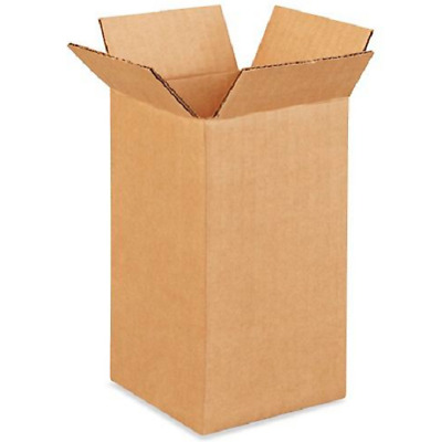 50 4x4x8 Cardboard Paper Boxes Mailing Packing Shipping Box Corrugated Carton
