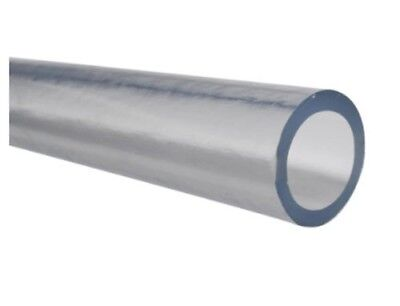 "Laboratory PVC Plastic Tube for Chemicals Inner Dia 5/8"" Outer Dia 1-3/8""- 50 ft"