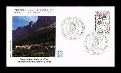 Dr Jim Stamps Health Foundation Students First Day Issue France Cover 1975