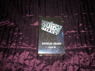 The Hitchhiker's Guide to the Galaxy, 5 book boxed set, brand new and sealed
