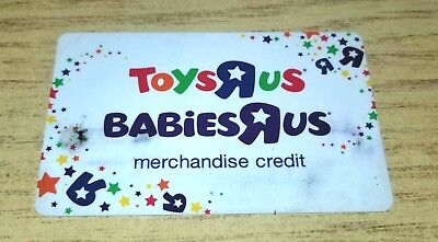 Toys R Us Babies R Us Gift Card Loaded Never Spent 30 00 Picclick