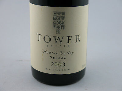 Tower Estate Hunter Valley Shiraz 2003 Perfectly cellared