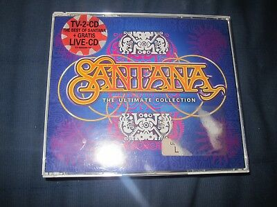 Santana The Ultimate Collection Doppel CD