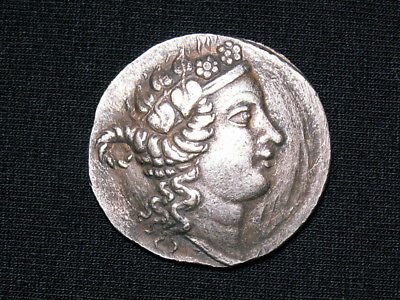The coin is an Antique denarius of ancient Rome.