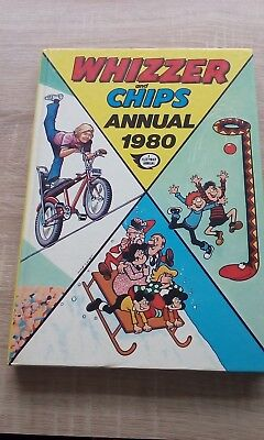 Whizzer & Chips Annual 1980.  Hardback Book.  Vintage.  Original Price Intact.
