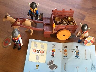 Playmobil 3152 Wikinger Raubzug top inkl. Plan