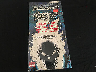 Marvel Comics Ghostrider Ii Full Box Of Trading Cards New Ghost Rider