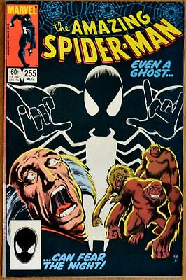 Amazing Spider-man 255 black costume Red Ghost Tom Defalco Ron Frenz