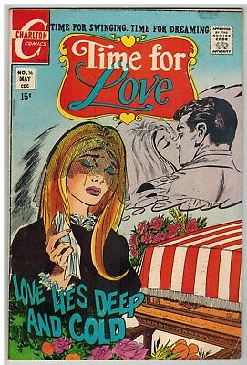 Time For Love #16 1970 Charlton Bronze Age!