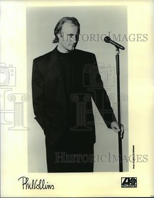 1992 Press Photo Phil Collins, English soft rock singer, songwriter and musician