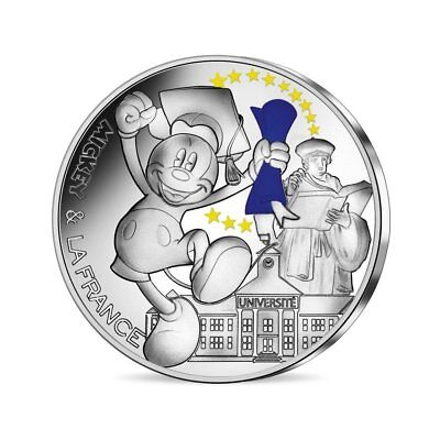 #Rm# 50 Euro Commemorative France 2018 - Mickey Student