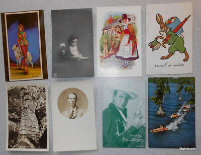(1000) TOPICAL VIEWS TRANSPORTATION GREETINGS Large Postcard Lot c1905-1960's
