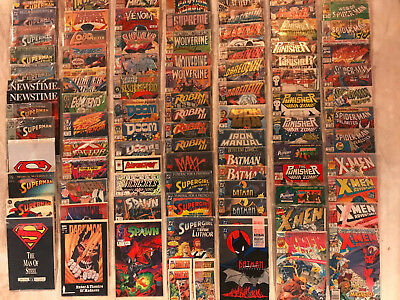 REDUCED!!!!Lot of over 80, never read/opened, comic books. Excellent condition