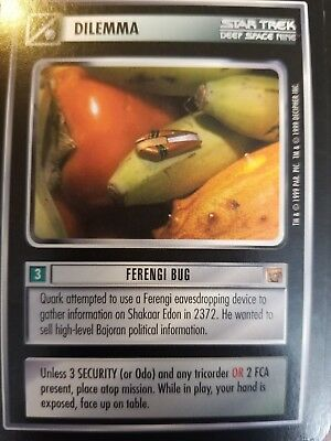 Star Trek CCG Rules of Acquisition Tower of Commerce NM-MINT TCG