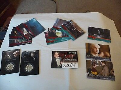 Harry Potter Sub sets individual & Promotional Cards