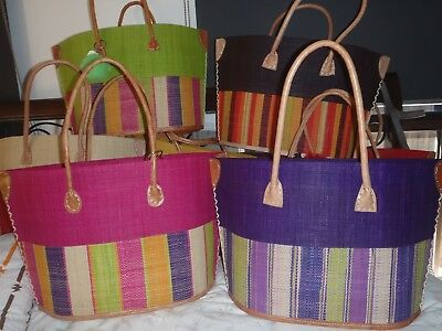 baskets,hand bags,gifts,handmade from the island madagascar