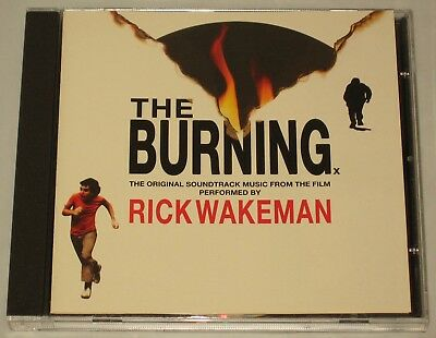 The Burning - Cd - Soundtrack - Rick Wakeman