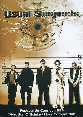 USUAL SUSPECTS - Kevin Spacey / Bryan Singer - DOSSIER PRESSE D'ÉPOQUE (1995)