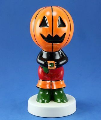Lorna Bailey PUMPKIN HEAD HALLOWEEN FIGURE