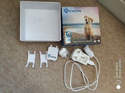 Tractive GPS Dog Tracker Real-time Cat Dog Pet Tracking Device Used