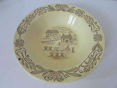 1950's Royal Bucks County Pa Sebring Ohio Dinnerware Serving Vegetable Bowl 10""
