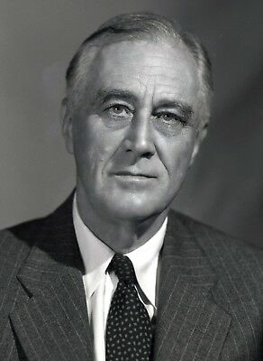 President Franklin Roosevelt PHOTO, FDR White House, Great Depression Prez