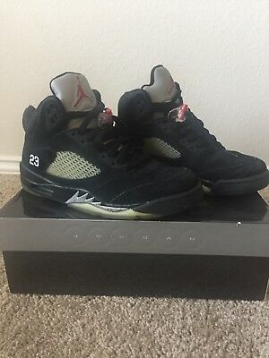 42f2dea5022 2011 NIKE AIR JORDAN 5 V RETRO black/red-metallic silver 136027-010 ...