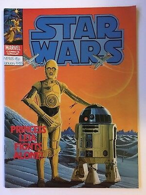 Star Wars Weekly Monthly #165 Rare VFN