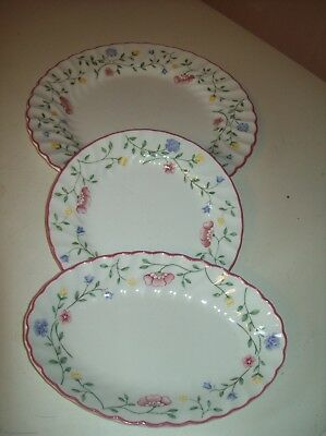 3 X Johnson Brothers Summer Chintz Assorted Plates Dinner Side & Oval - Bargain